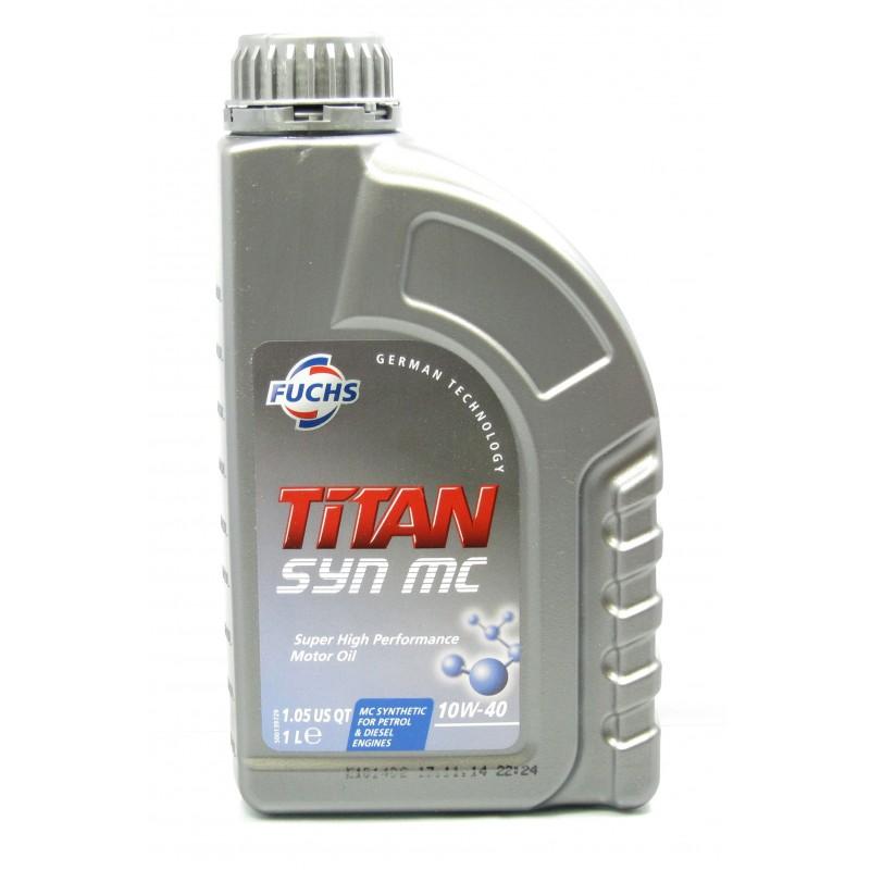fuchs titan syn mc 10w 40 high performance semi synthetic