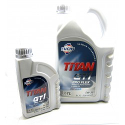 fuchs titan gt1 proflex 5w 30 premium synthetic engine oil. Black Bedroom Furniture Sets. Home Design Ideas