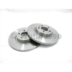 Rear Brake Discs - 147 156 (Pair)