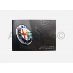 Genuine Alfa Romeo Warranty and Service Books