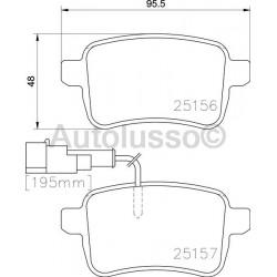 Giulietta 1.4 Standard Rear Brake Pads