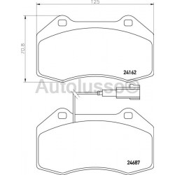 Mito - Front Brake Pads (Brembo)
