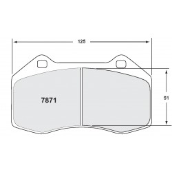 Performance Friction - 1.4 Turbo Front Brake Pads