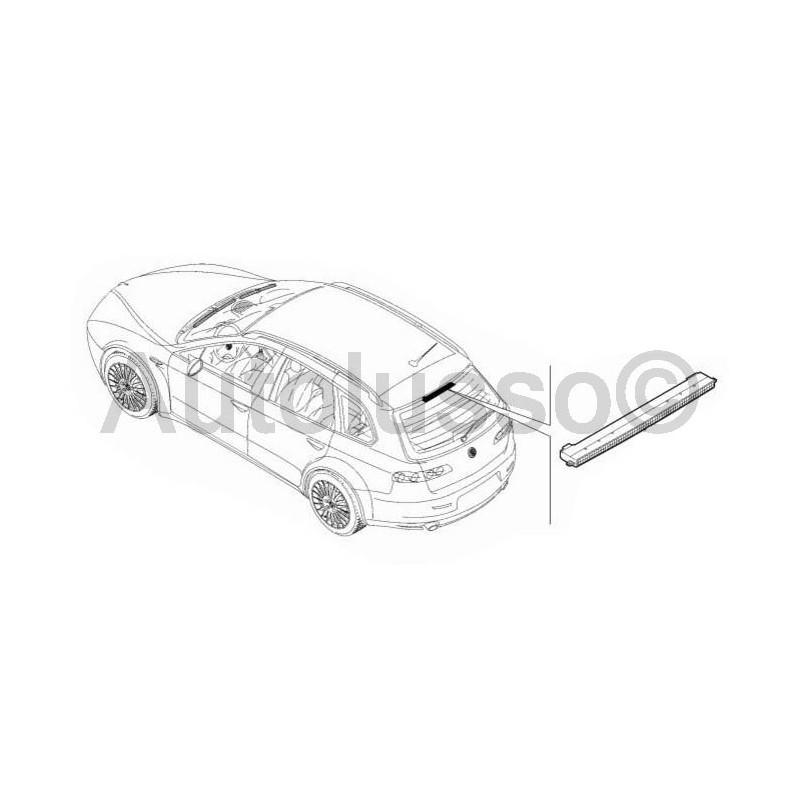 high level brake light for alfa romeo 159 sport wagon models