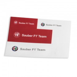 Sauber - Alfa Romeo Team Sticker Set