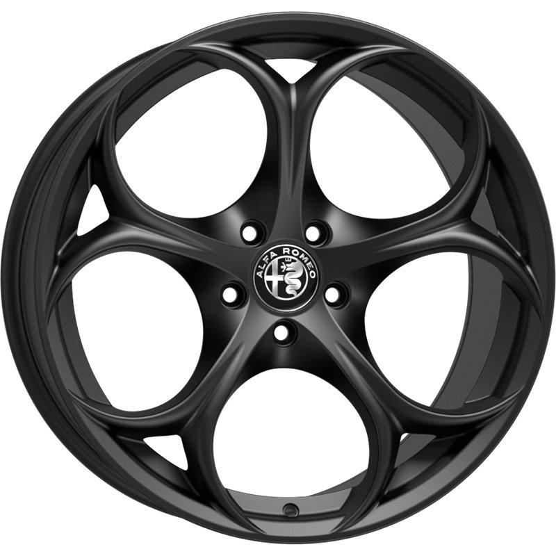 Matt Black Alfa Romeo Giulia Wheels Autolusso Parts Ltd