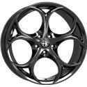 Hyper Black - Alfa Romeo Giulia Wheels