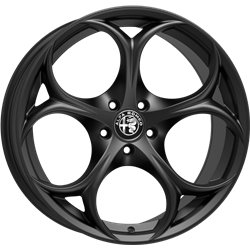 Matt Black - Alfa Romeo Giulietta Wheels