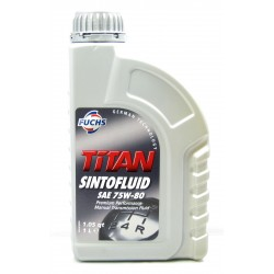Fuchs Titan Sintofluid SAE 75W-80 Manual Gearbox Oil