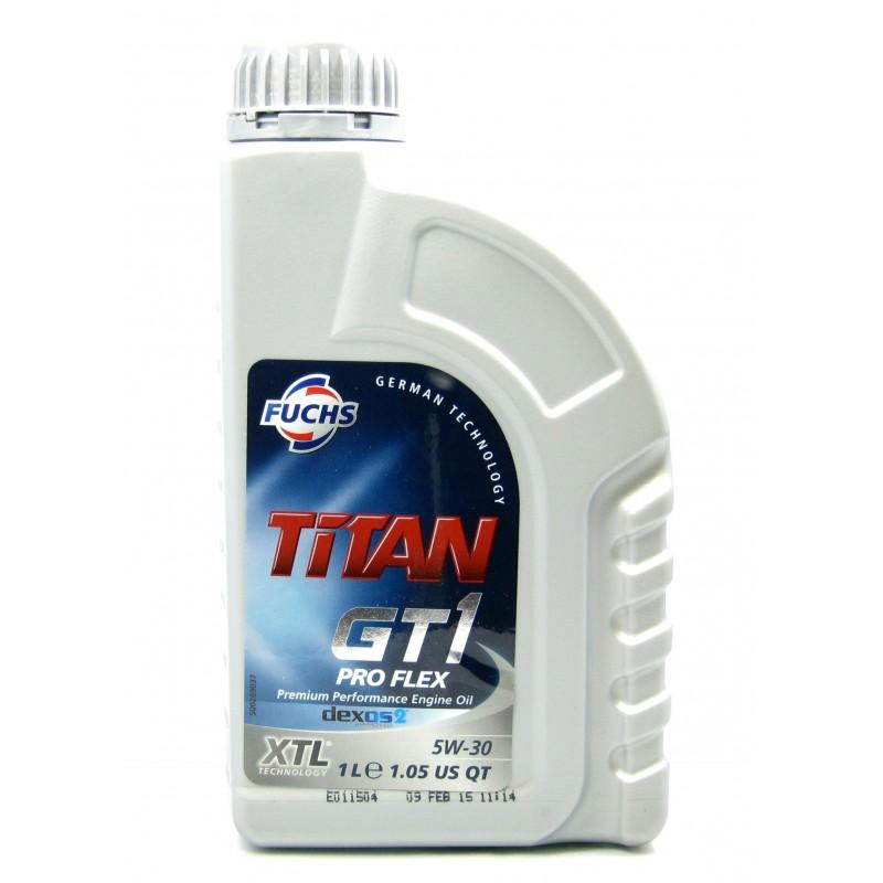 fuchs titan gt1 proflex 5w 30 premium sythetic engine oil. Black Bedroom Furniture Sets. Home Design Ideas