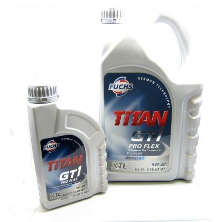 Fuchs Titan GT1 Proflex 5W-30 Premium Sythetic Engine Oil