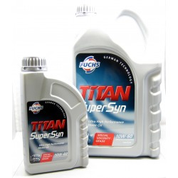 Fuchs Titan Supersyn 10W-60 High Performance Fully Synthetic Engine Oil